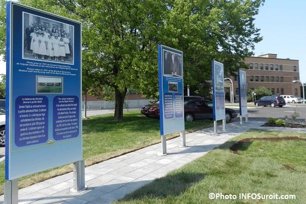Hopital-Barrie-Memorial-Ormstown-avec-plaque-commemorative-75-ans-Photo-INFOSuroit_com