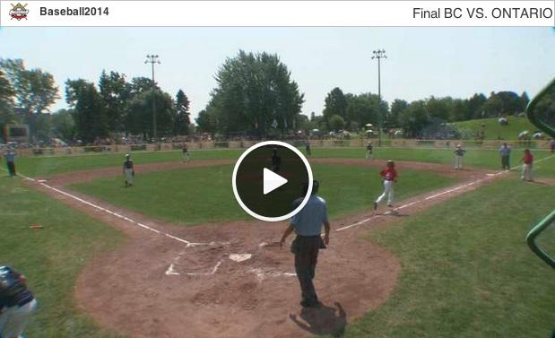 Baseball-Championnat-canadien-petite-Ligue-a-Valleyfield-Capture-d-ecran-Livestream