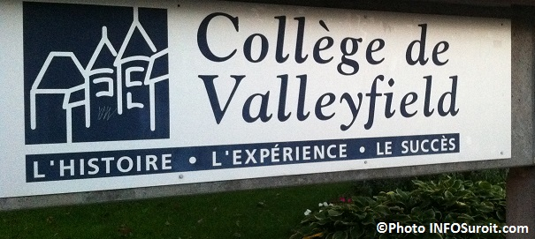 College-Valleyfield-enseigne-sur-rue-Champlain-Photo-INFOSuroit_com