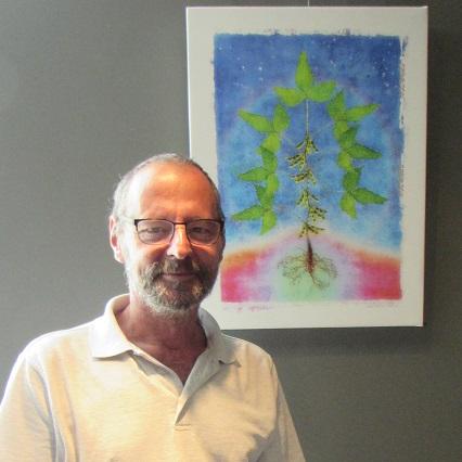 Roger_Winkler tableau Soya arbre de vie Photo courtoisie MRC BHS
