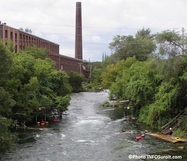 riviere Saint-Charles site entrainement et competitions kayak eau vive Photo INFOSuroit_com