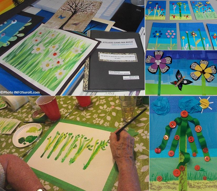 Ateliers-Dans-ma-bulle-cours-arts-visuels-oeuvres-de-particpants-Residence-du-Village-et-Jardins-Vaudreuil-Photos-courtoisie