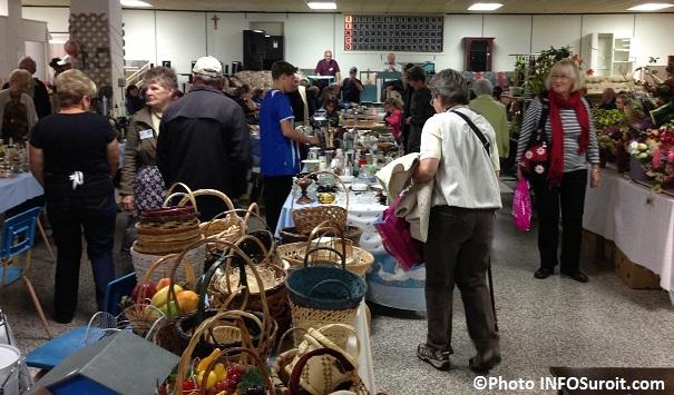 Bazar de Bellerive vente articles usages et bingo au sous-sol eglise Bellerive Photo INFOSuroit