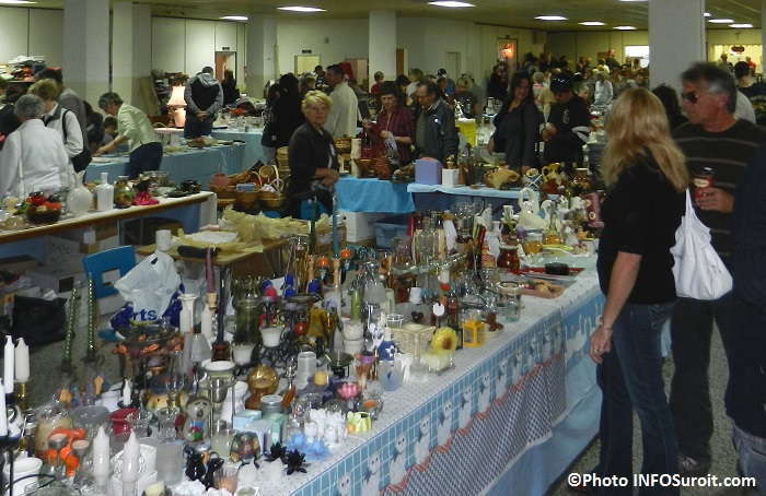 Bazar de Bellerive vente articles usages sous-sol eglise Bellerive Photo INFOSuroit