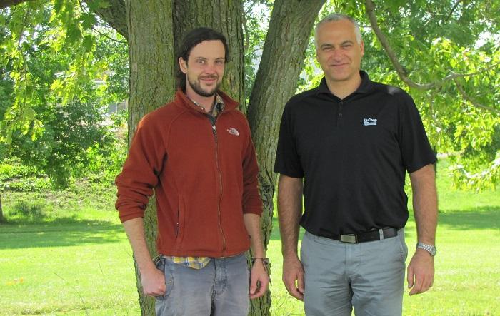 Francois_Payette expert agroforestier et Alain_Dubuc directeur general Coop des Frontieres Photo courtoisie publiee par INFOSuroit