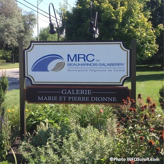 Galerie d art Marie et Pierre Dionne MRC de Beauharnois-Salaberry a Beauharnois Photo INFOSuroit_com