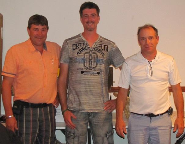 Golf Coop 2014 JF_Riendeau de l ARRC avec Sylvain Brault president de la COOP et Photo courtoisie