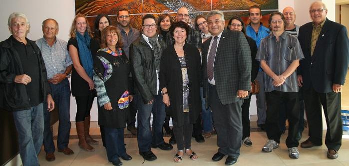 Intervenants culturels MRC Beauharnois-Salaberry Lancement Journees de la culture 2014 Photo courtoisie