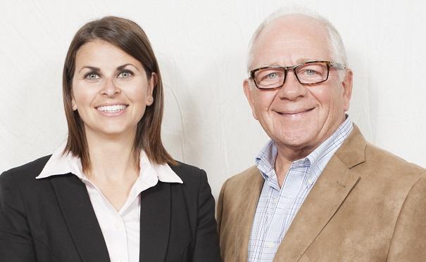 Kathleen_Favreau-OBrien directrice generale et Michel_Caron nouveau directeur aux dons planifies Photo courtoisie