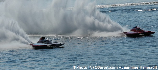 Regates course hydroplane GrandPrix GP777 et GP444 Photo INFOSuroit_com Jeannine_Haineault