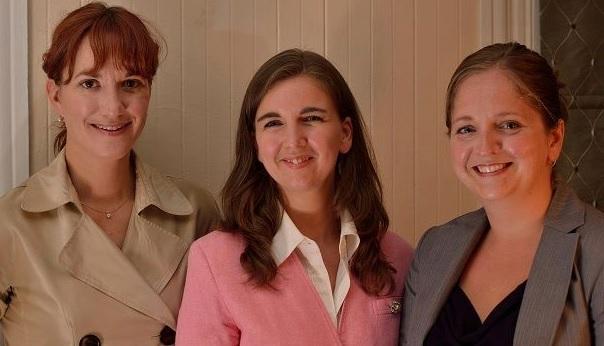 Sophie_Doucet Maude_Laberge et Carole_Cardinal candidates election municipale Sainte-Martine Photo courtoisie