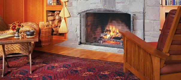 foyer chauffage au bois Photo CPA publiee par INFOSuroit_com