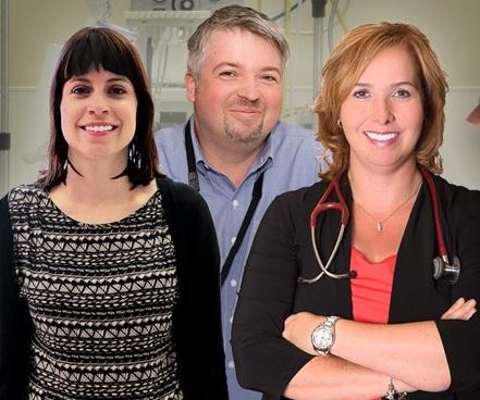 CSSS du Suroit les docteurs Turcotte Ioncu et Rondeau Photo courtoisie CSSS