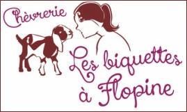 Chevrerie les Biquettes a Flopine logo officiel