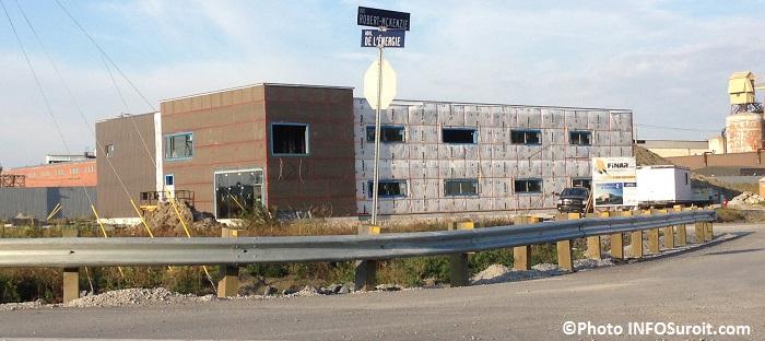 Construction et Expertise PG en construction dans le parc industriel de Beauharnois Photo INFOSuroit_com
