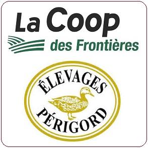 Coop-des-Frontieres et Elevages-Perigord logos