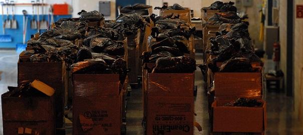 GRC saisie de tabac illegal 10740 kg tabac hache 3oct2014 Photo GRC