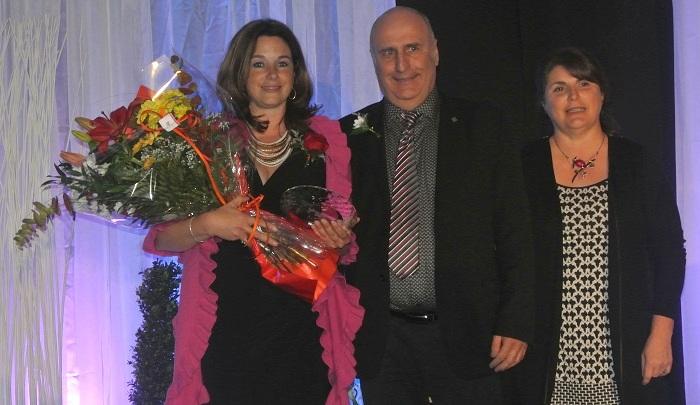 Gala Saturne 2014 NathalieGervais grande gagnante BrunoLetendre et RaymondePlamondon Photo courtoisie