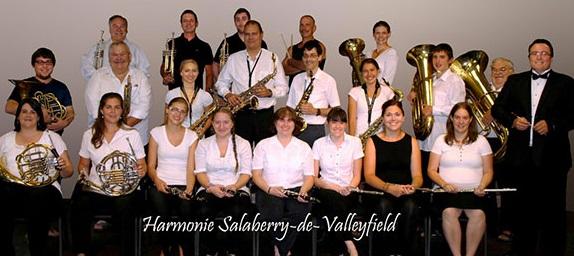Harmonie de Salaberry-de-valleyfield Photo site Web HarmoValleyfield