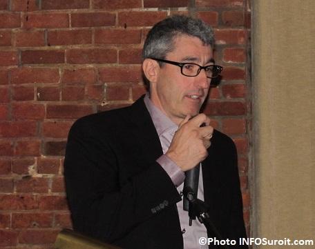 Jean-Francois_Gagnon de la CEZinc Glencore oct2014 Photo INFOSuroit_com