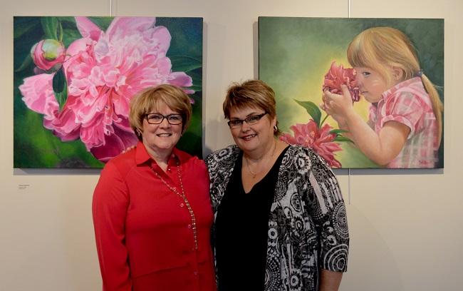 Louise_Barnabe-et-Nicole_Daignault-exposition-salle_Alfred_Langevin-photo-courtoisie-publiee-par-INFOSuroit_com