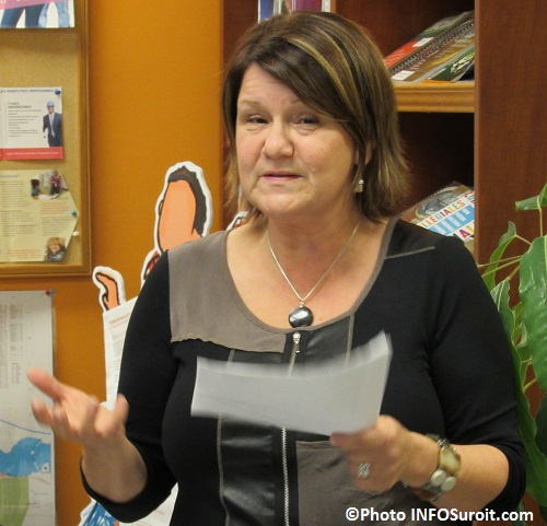 Louise_Clement directrice du CJE Beauharnois-Salaberry Photo INFOSuroit_com