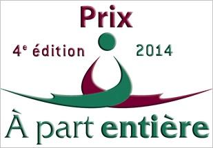 Prix A part entiere 2014 logo