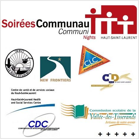 SoireesCommunauT et partenaires logos