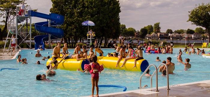 Valleyfield nouvelle zone aquatique piscine centre-ville Photo courtoisie SDV