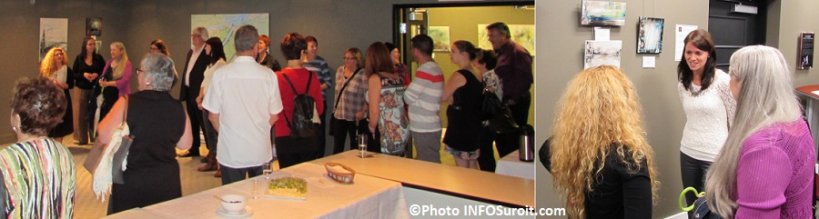 Vernissage ManonDesserres MRC Beauharnois-Salaberry Photos INFOSuroit_com