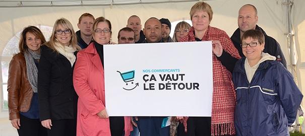 Ville de Chateauguay et Chambre de commerce Grand Chateauguay campagne promotion Photo courtoisie