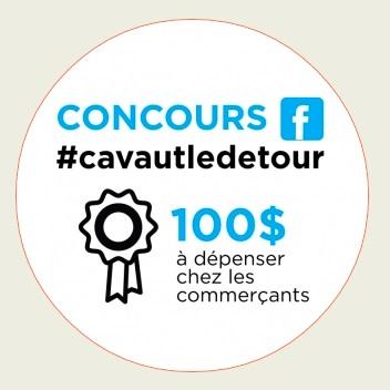 Ville de Chateauguay et Chambre de commerce campagne promotion Visuel concours