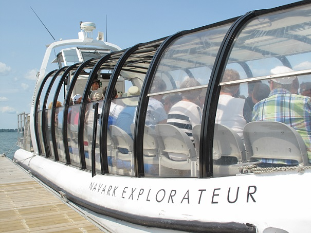 croisieres decouvertes Beauharnois-Chateauguay lac Saint-Louis bateau Explorateur Photo courtoisie