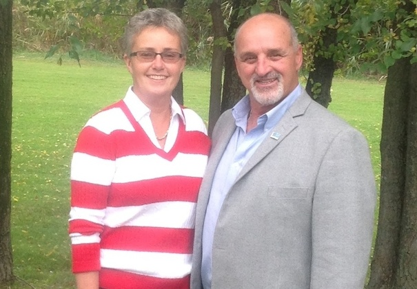 Collecte de sang du maire 2014 Chantal_Vermette et Guy_Pilon