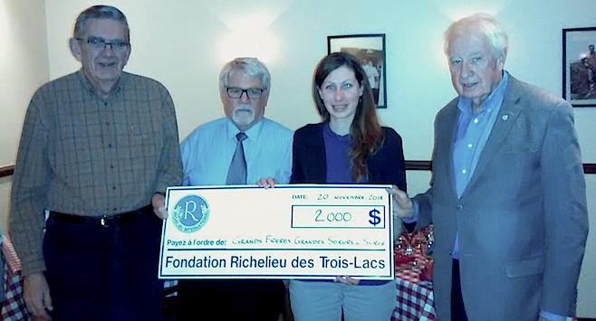 Grands Freres Grandes Soeurs Don Fondation Richelieu