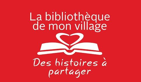 Bibliotheque de mon village logo courtoisie MRC