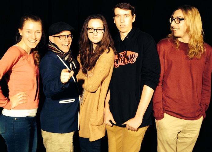 equipe d animation finale locale de Cegeps en spectacle 2014 Photo courtoisie College de Valleyfield