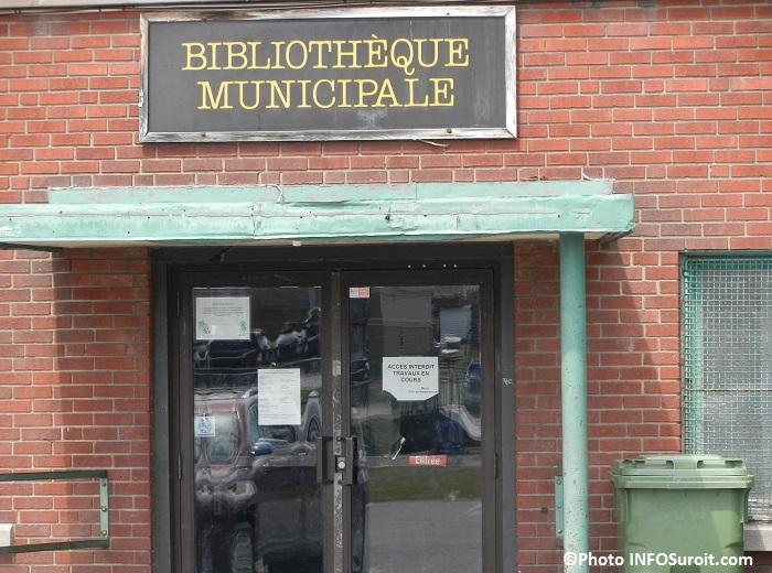 Beauharnois Bibliotheque mise a niveau travaux Photo INFOSuroit_com