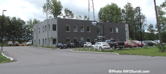 Bureaux A30 dans Ecoparc industriel a Valleyfield Photo INFOSuroit_com
