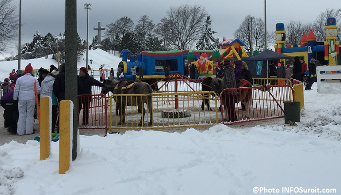 Magie des fetes Valleyfield 2014 poneys jeux gonflables Photo INFOSuroit_com