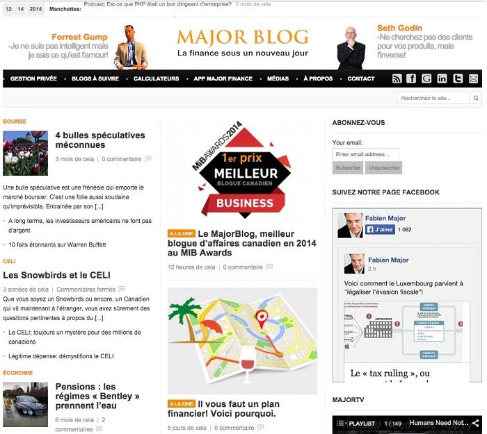 MajorBlog page d accueil decembre 2014