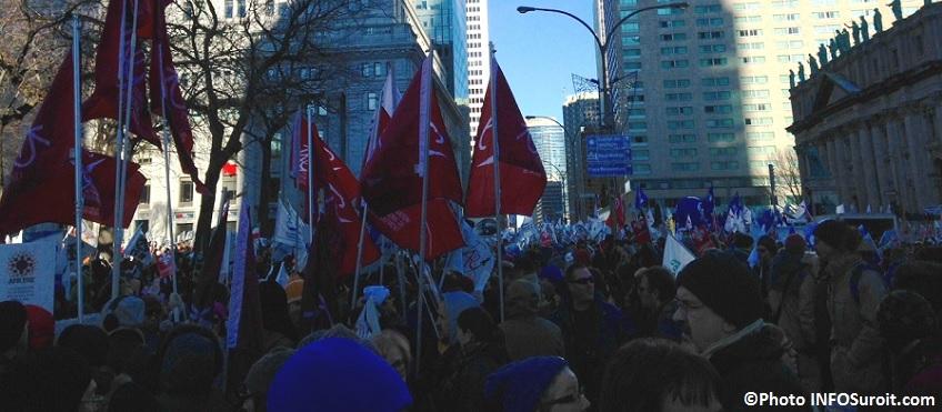 Manifestation contre austerite a Mtl Monteregie presente Photos INFOSuroit_com