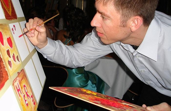 artiste peintre tableau peinture Photo Pixabay