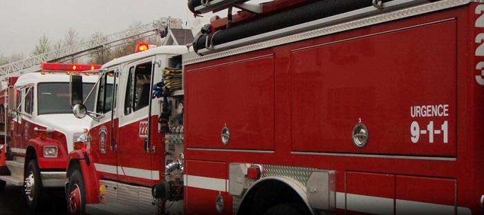 camion pompier Regie intermunicipale d incendie du Lac St-Francois Photo courtoisie