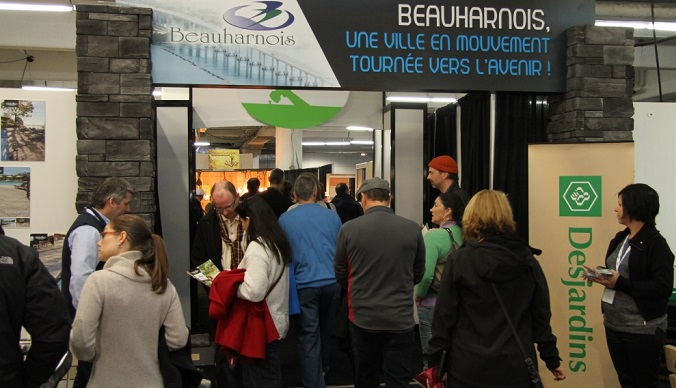 Beauharnois au salon ExpoHabitation de Mtl Photo courtoisie
