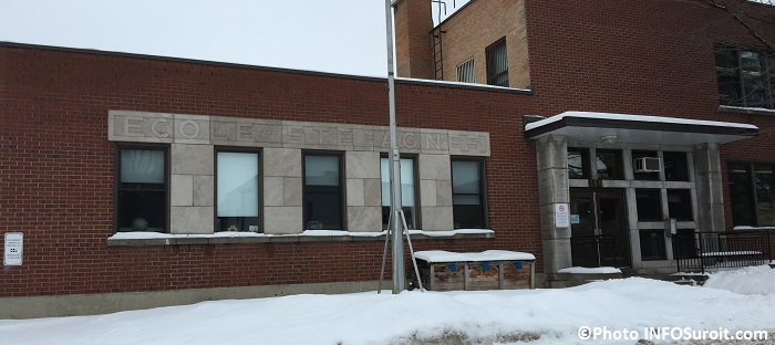 Ecole Ste-Agnes a Valleyfield hiver 2014-2015 Photo INFOSuroit_com