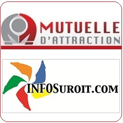 Mutuelle d attraction logo et INFOSuroit logo