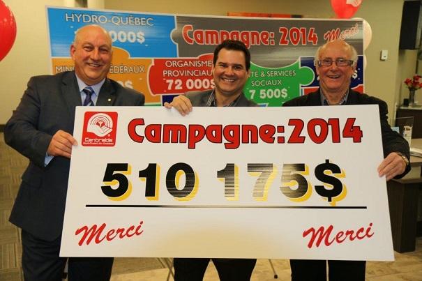 Bilan-campagne-souscription-Centraide_Sud_Ouest-2014-N_Houle-J_Pilon-et-S_Hickey-photo-courtoisie-publiee-par-INFOSuroit_com