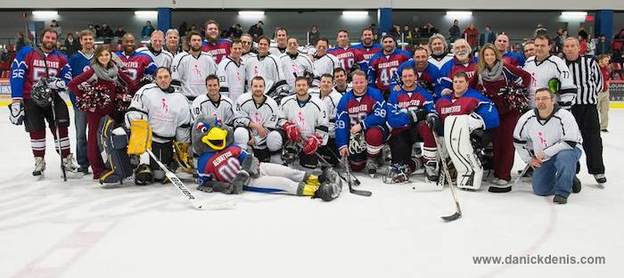 Hockey Alouettes de mtl et Fondation Hopital Photo DanickDenis_com courtoisie Fondation