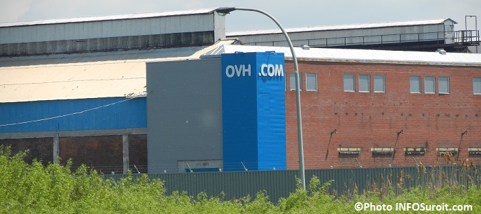 OVH installations ex-usine Alcan a Beauharnois Photo INFOSuroit_com